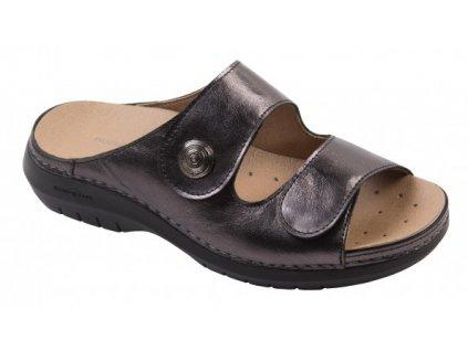 ACÁCIA dámské pantofle olověné barvy C5423 Nursing Care 2