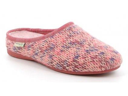 ADRI CI2446 domácí pantofle dámské růžové Grunland 1