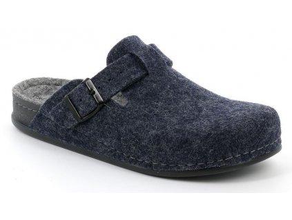 REPS CI1016 pánská domácí obuv modrá Grunland 1