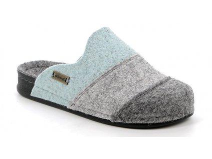 REPS CI1793 dámská domácí obuv šedá Grunland