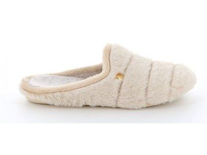 GAYE CI2444 dámská domácí pantofle béžová Grunland 1