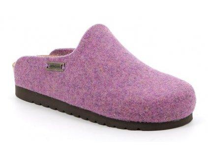 HOLA CB2517 dámská domácí filcová pantofle růžová Grunland 1
