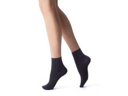 DCZ JB790 dámské krátké ponožky černé Jadea