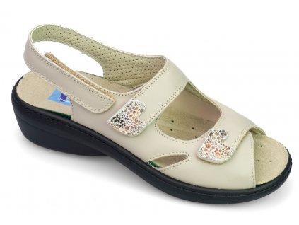 DINA halluxový sandálek dámský béžový PodoWell 1