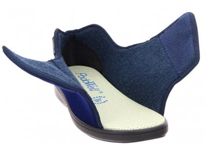 ALEXIS zdravotní polobotka pro oteklé nohy modrá PodoWell