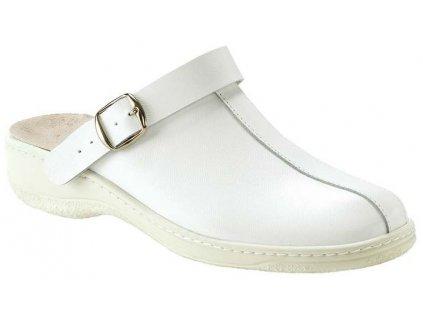 MELIDES pracovní obuv unisex bílá BE610 Nursing Care 1