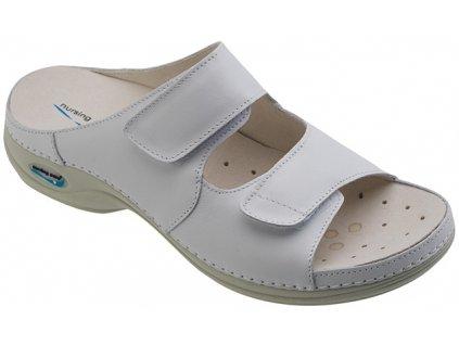 VIENA dámská pantofle pratelná bílá WG810 Nursing Care 3
