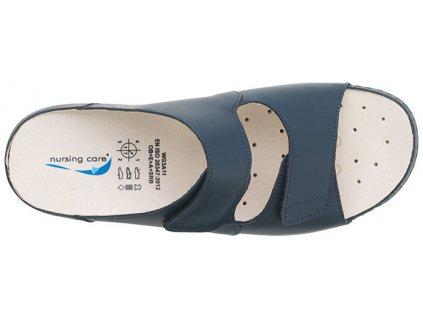 VIENA dámská pantofle pratelná tmavě modrá WG803 Nursing Care