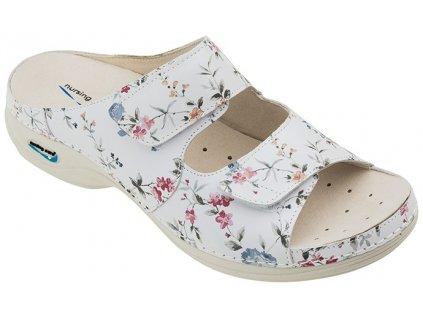 VIENA dámská pantofle pratelná květy WG8F1 Nursing Care 3