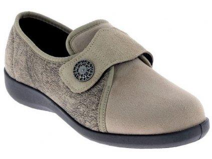 UCIEL dámská domácí zdravotní obuv béžová PodoWell
