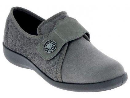 UCIEL dámská domácí zdravotní zdravotní obuv šedá PodoWell