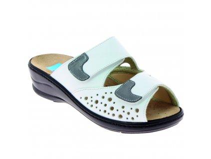 DORINE halluxové pantofle bílé PodoWell