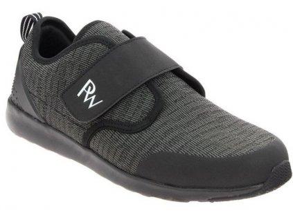 VAUBAN sportovní pánská obuv v černé barvě PodoWell