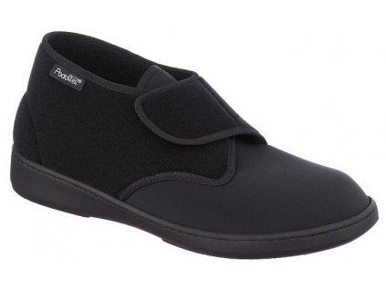 ALADIN zdravotní obuv pro problematické nohy unisex černá PodoWell