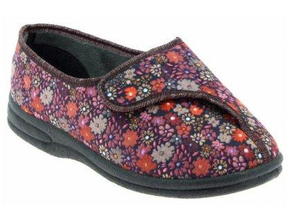 BALAN zdravotní obuv dámská bordová PodoWell