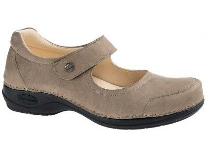 CUBA zdravotní obuv dámská taupe C515 Nursing Care