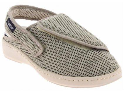 ANGEVIN-zdravotní-pantofle-sandálek-unisex-béžová-PodoWell
