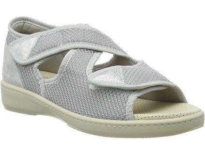 ATHENA zdravotní sandálek dámská perleťová PodoWell a