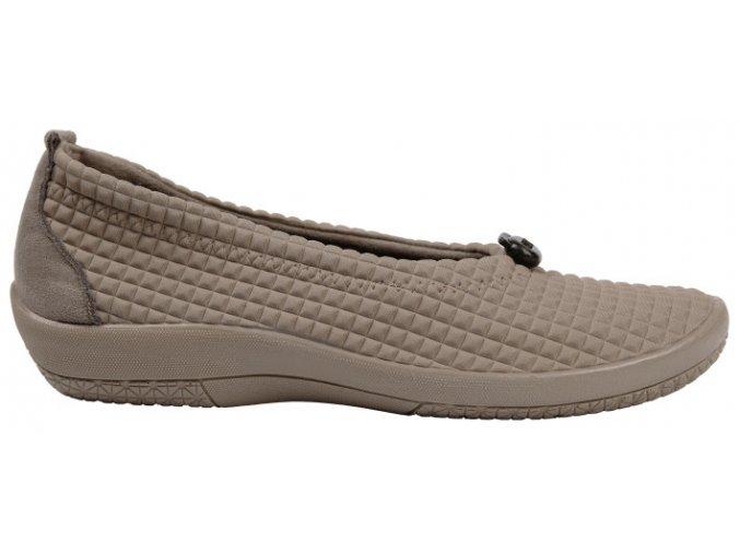 PINHAO elastická obuv dámská béžová Nursing Care