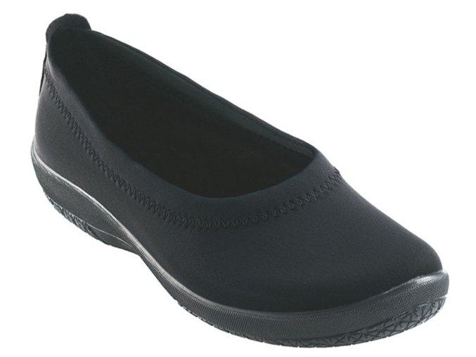 AVELA elastická obuv dámská černá Nursing Care