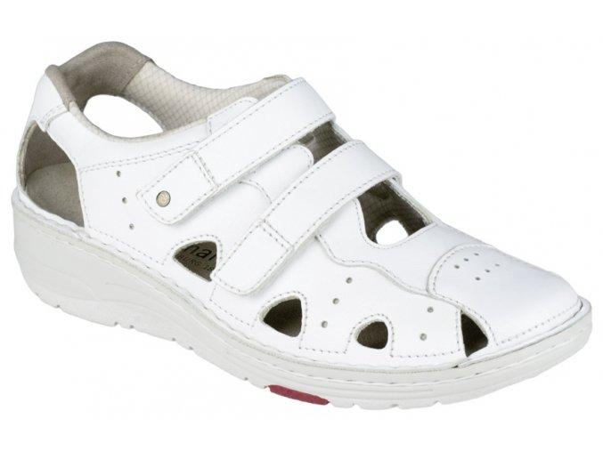 LARENA pracovní obuv dámská bílá Berkemann