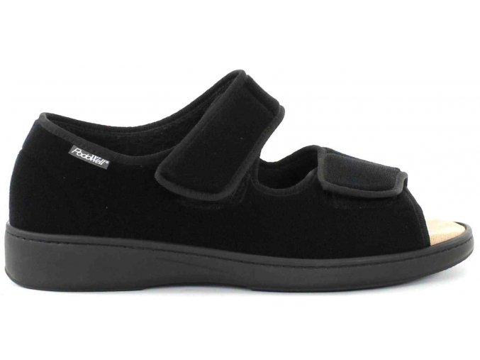 ARIAN zdravotní sandálek unisex černá PodoWell