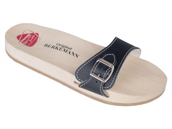 ORIGINAL SANDAL dřeváky unisex černé Berkemann