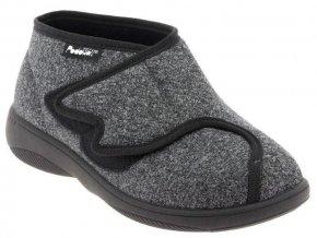 ALAN zdravotní obuv unisex černá PodoWell