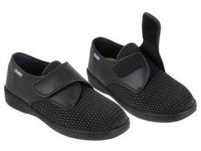 ALVINE halluxová obuv unisex elastická ve špici černá PodoWell
