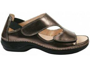 BERMUDA zdravotní sandálek dámský bronzový Nursing Care