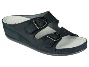 LUNEBURG zdravotní pantofle dámská tmavě modrá Berkemann