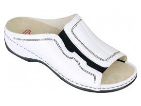 JENNIFER zdravotní pantofle dámská bílá Berkeman