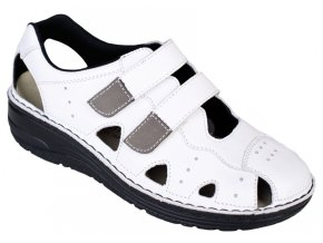 LARENA zdravotní sandálek dámský bílý Berkemann