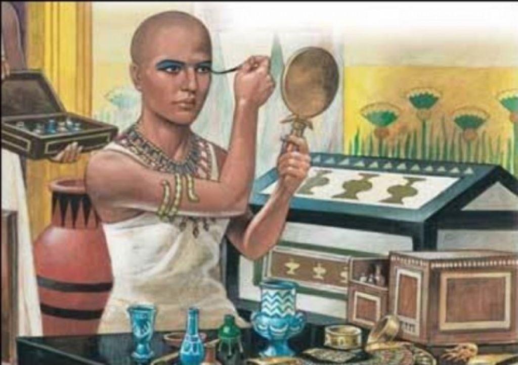 Již staří egypťané používali make-up!