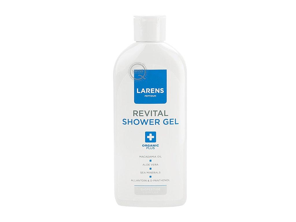 LARENS Revital Shower Gel 200 ml - dlouhotrvající regenerace  obnovuje přirozené Ph pokožky