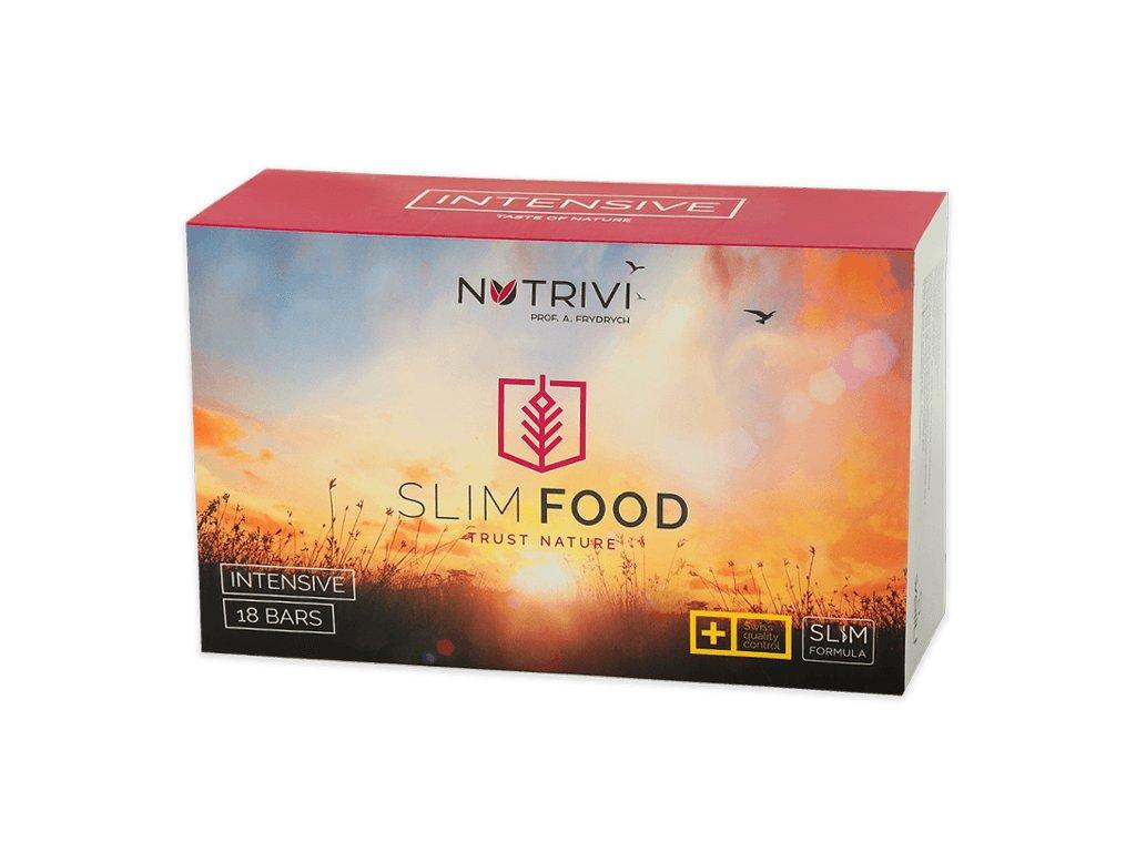 dietní strava Nutrivi SLIM FOOD - 18 nebo 36 tyčinek různých chutí  dobře vyvážená dieta