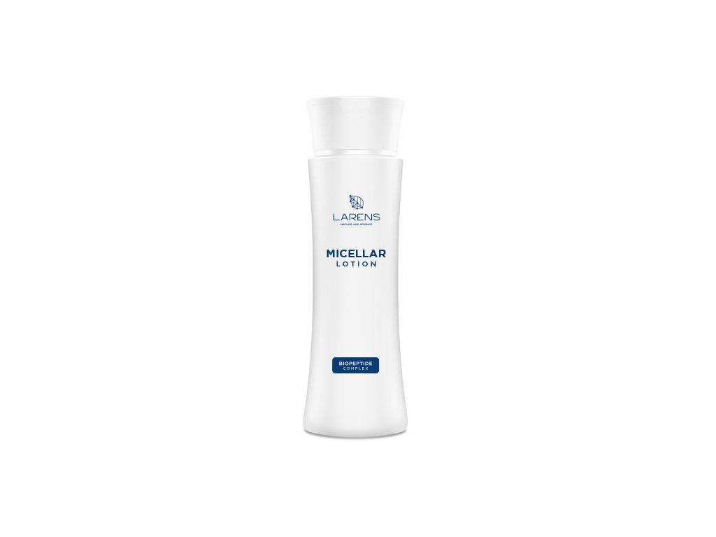 Micelární voda LARENS Micellar Lotion 200 ml - odlíčení a čištění pleti  optimální ošetření pleti ve fázi čištění