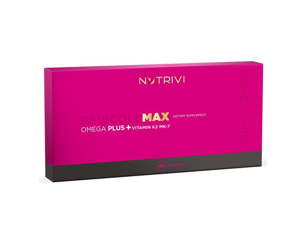 Nutrivi Revicoll MAX Omega Plus K2MK7 60 caps