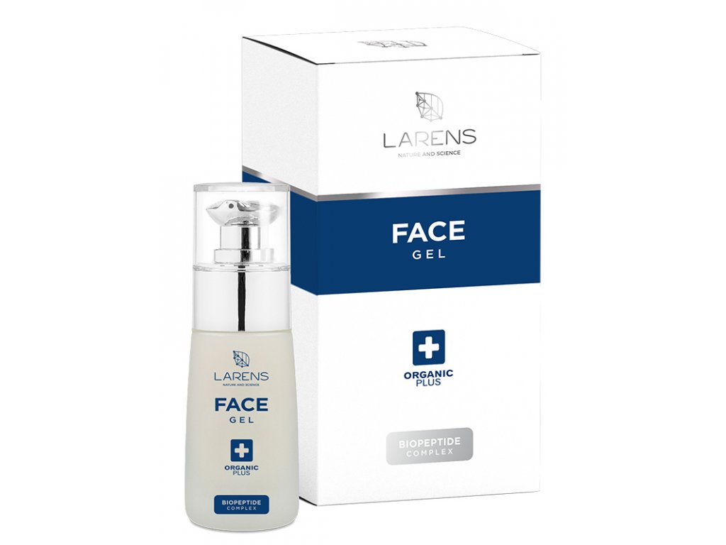 Kolagenový gel s peptidy LARENS Peptidum Face Gel 50 ml - rozjasňuje pleť  má silné liftingové a protivráskové účinky