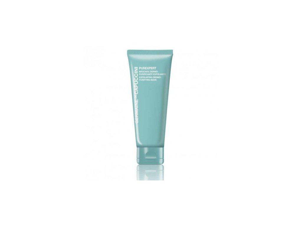 Maska čistící exfoliační 75 ml  intenzivní čistící, exfoliační a matující efekt a minimalizuje póry