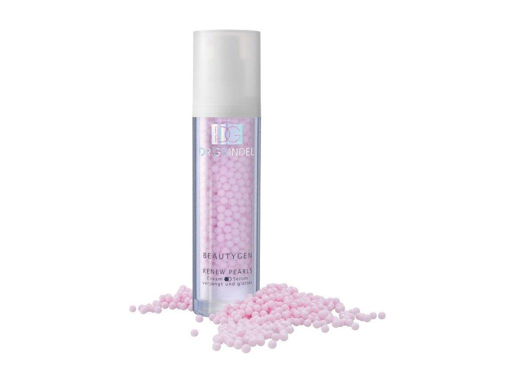 RENEW Pearls Cream Serum 50 ml - omlazující a vyhlazující krémové sérum  zvyšují pružnost pleti, chrání kolagenová vlákna a  zpomaluje proces stárnutí