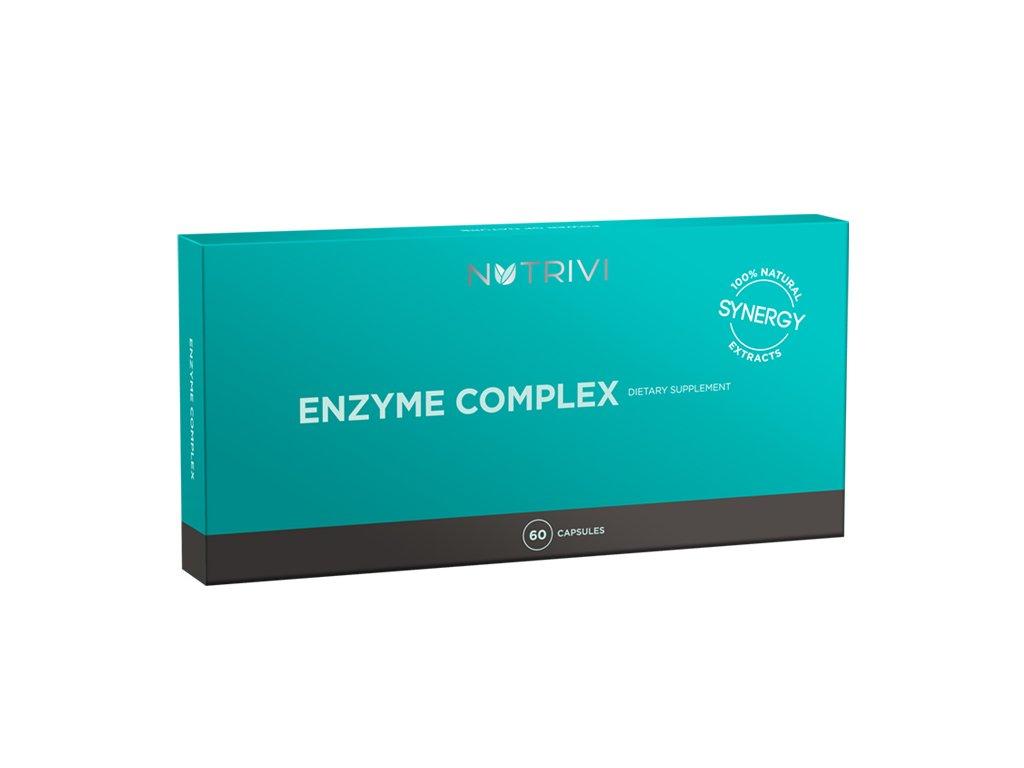 Nutrivi Enzyme Complex  podpora pro trávicí soustavu, 60 tobolek