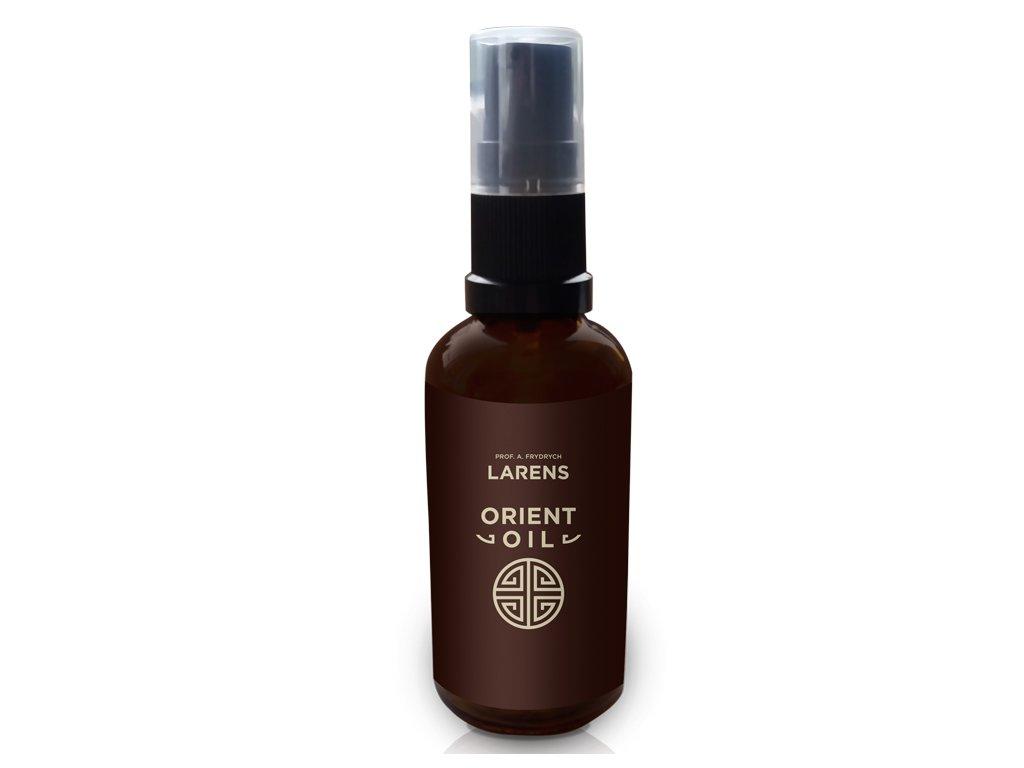 Larens Orient Oil 50ml - kompozice vzácných olejů  dokonale ošetřuje suchou a citlivou i mastnou pokožku