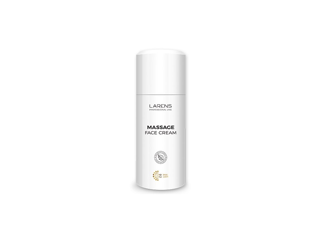 LARENS Massage Face Cream 100 ml - pro zralou, unavenou a vysušenou pleť  ideální k ošetřujícím masážím, nezanechává mastný film