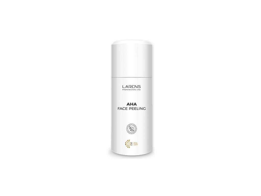 LARENS AHA Face Peeling 100 ml - podporuje proces olupování pokožky  dodává pleti zdravou barvu, rozjasňuje a vyhlazuje její povrch
