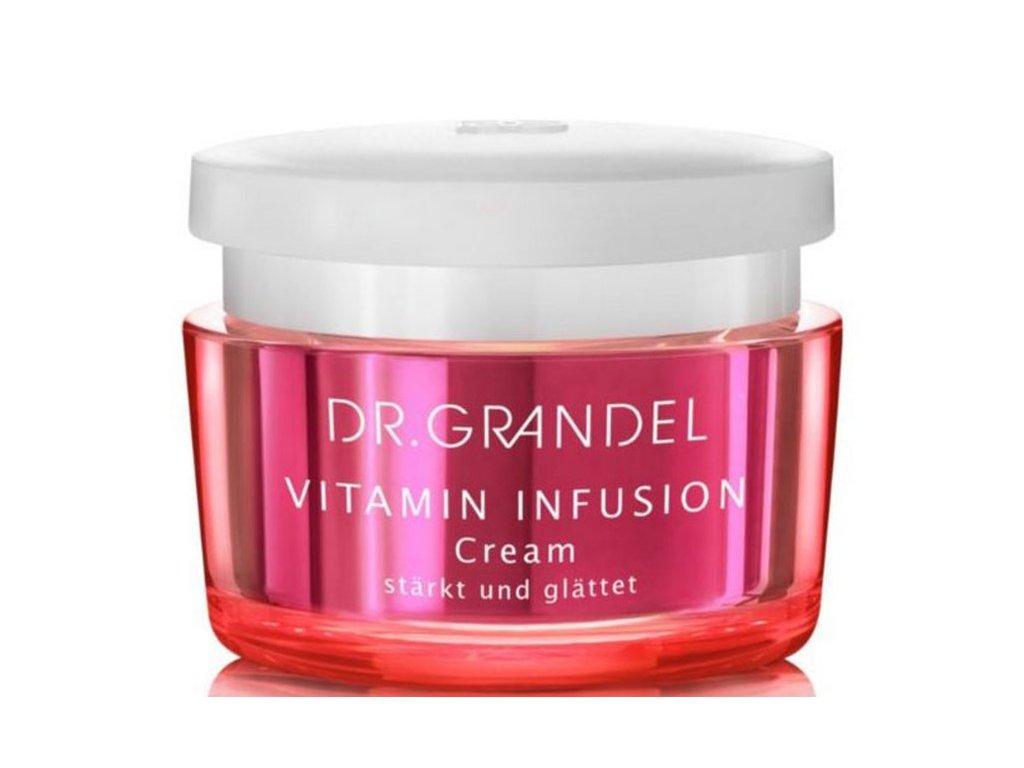 Vitamin Infusion krém 50 ml - vitamínový zpevňující krém  zjemňující pleťový krém dodává pokožce cenné lipidy