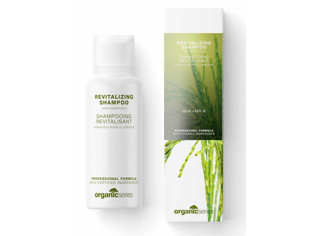 """Vlasový šampón revitalizační 200 ml - pro přirozenou pružnost a lesk  posiluje a vyhlazuje povrch vlasů, snižuje """"kudrnatost"""""""