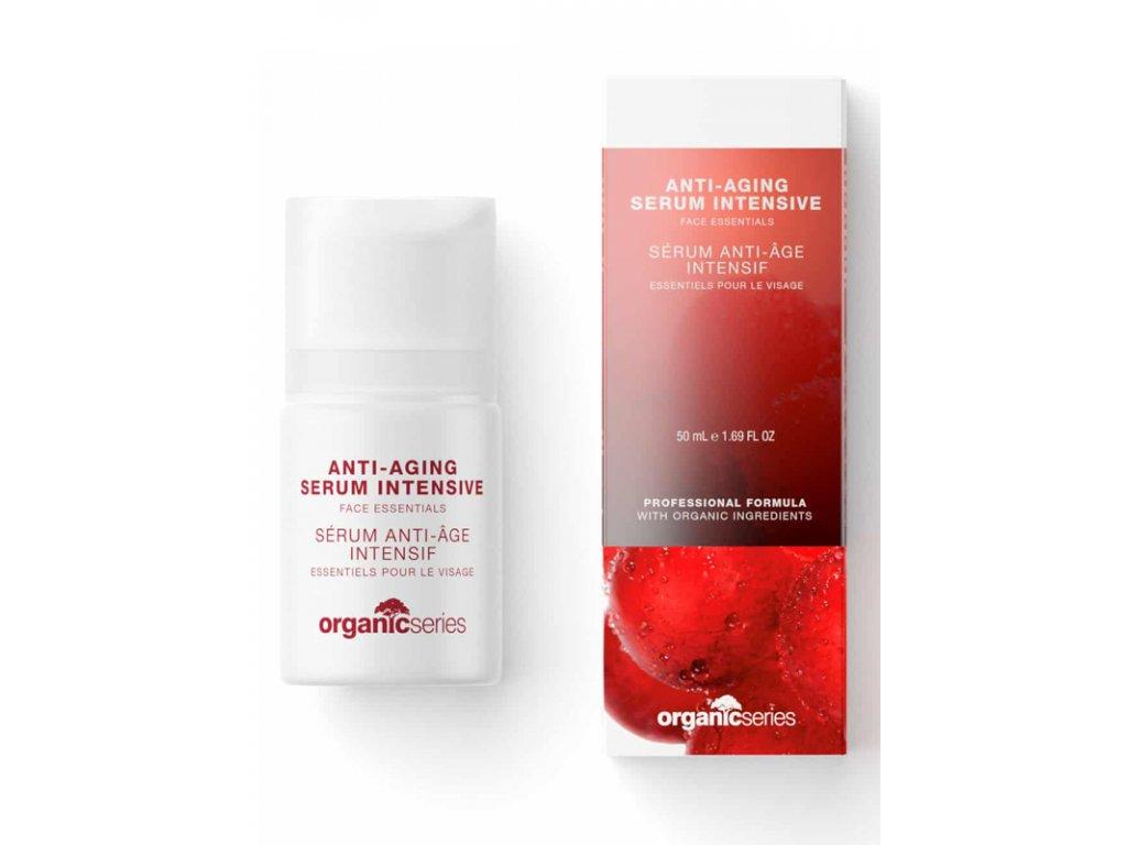Anti-aging sérum Intensive proti vráskám 50 ml - redukuje výskyt vrásek  proti stárnutí pokožky, navrací zářivost a mladistvý vzhled všem typům pleti