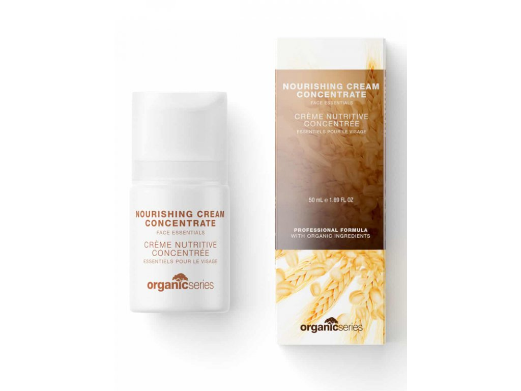Vyživující krém koncentrát 50 ml - pleť hluboce regeneruje  posiluje odolnost pokožky, zvyšuje její pružnost a pevnost