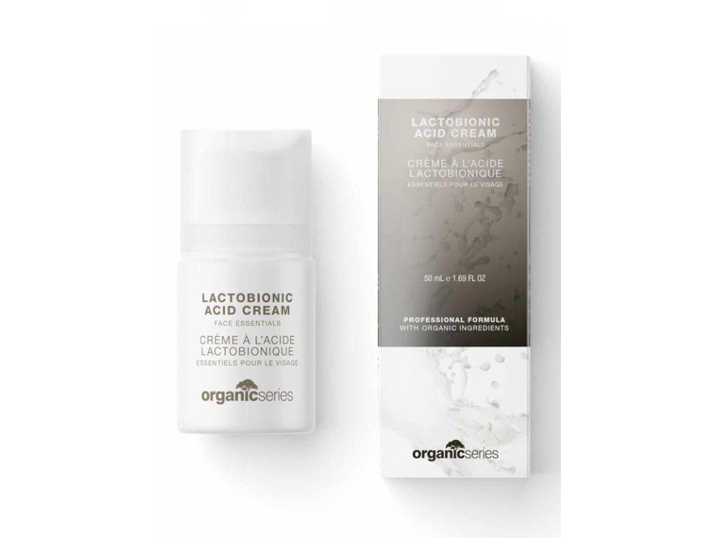 Krém s kyselinou laktobionovou 50 ml - oddaluje stárnutí pleti  pomáhá bojovat s nedokonalostmi v případě mastné a aknózní pleti